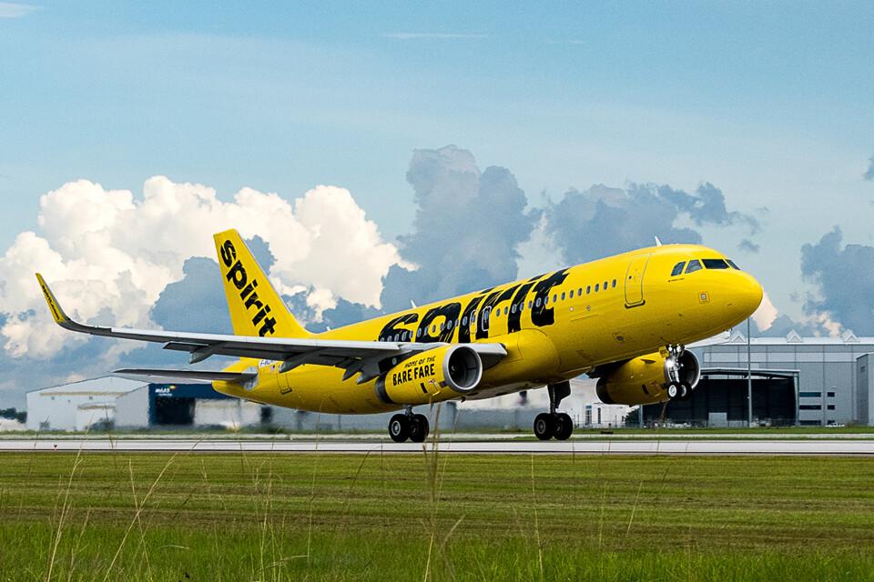 O primeiro A320 americano será entregue a companhia Spirit Airlines (Airbus)