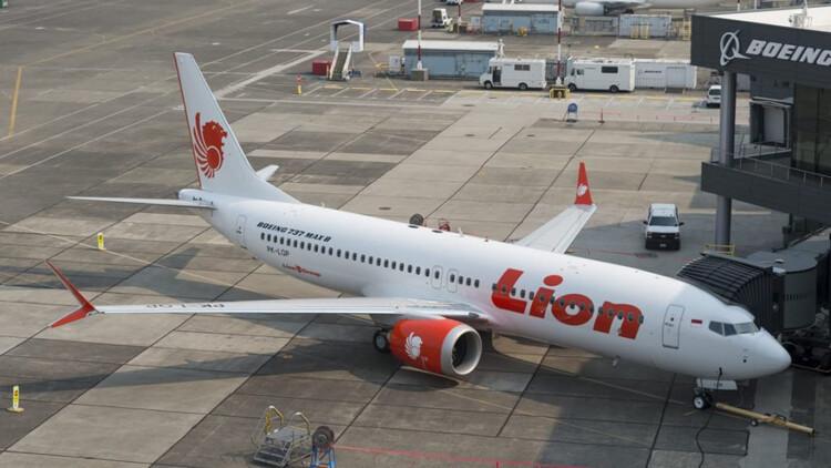 O 737 MAX 8 com matrícula PK-LQP estava em serviço com a Lion Air há menos de 3 meses (Tangerangonline)